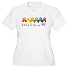Love Is Love: Penguins T-Shirt