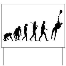 Evolution of Tennis Yard Sign