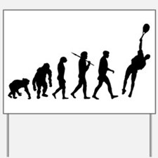 Evolution of Tennis Yard Sign