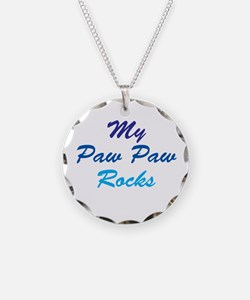 My Paw Paw Rocks Necklace