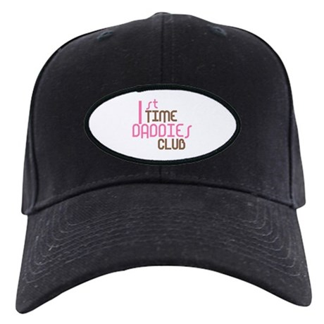 1st Time Daddies Club (Pink) Black Cap