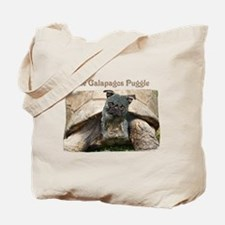 Galapagos Puggle Tote Bag