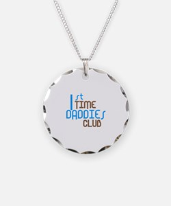 1st Time Daddies Club (Blue) Necklace