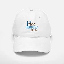 1st Time Daddies Club (Blue) Baseball Baseball Cap
