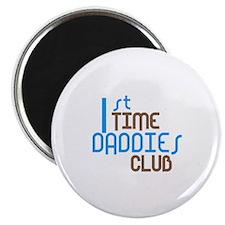 "1st Time Daddies Club (Blue) 2.25"" Magnet (10 pack"