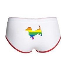Gay Pride Dachshund Women's Boy Brief