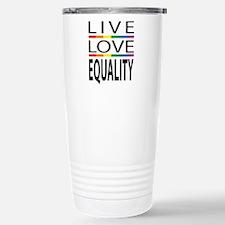 Live Love Equality Travel Mug