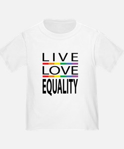 Live Love Equality T