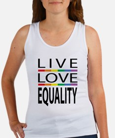 Live Love Equality Women's Tank Top