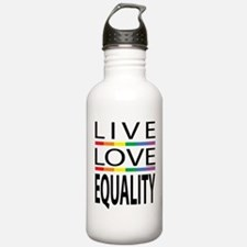 Live Love Equality Water Bottle