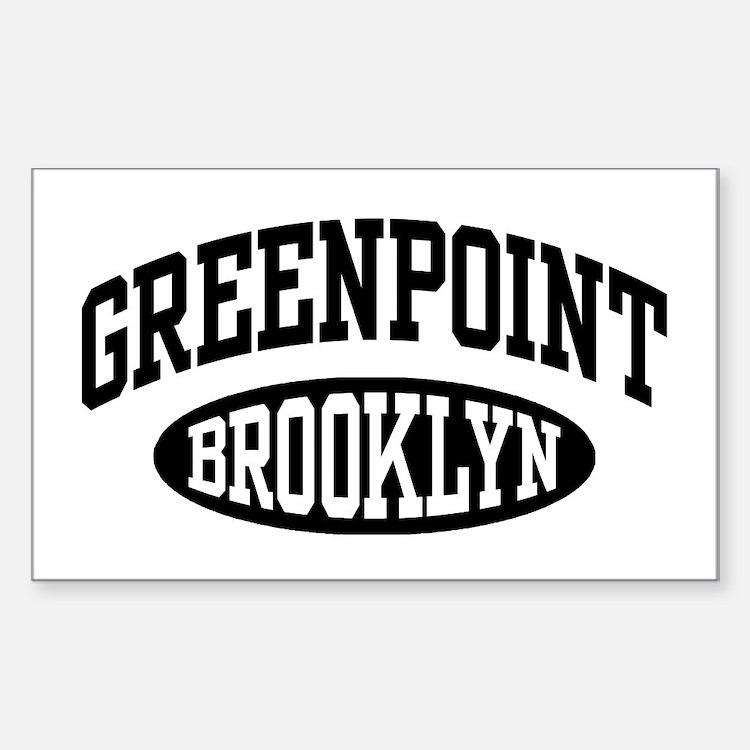 Greenpoint Brooklyn Decal