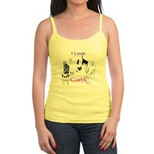 I Love Cats Ladies Top