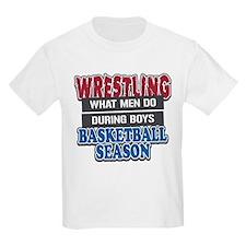 Wrestling What Men Do T-Shirt