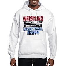 Wrestling What Men Do Hoodie