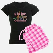 G is for Gianna Pajamas
