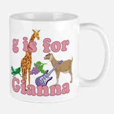 G is for Gianna Mug