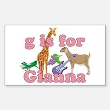 G is for Gianna Decal