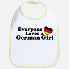 German Girl Bib