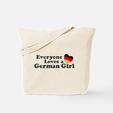 German Girl Tote Bag