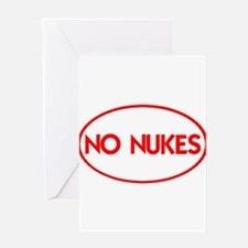 NO NUKES III-ALL PRODUCTS Greeting Card
