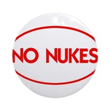 NO NUKES III-ALL PRODUCTS Ornament (Round)
