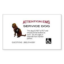 Sticker: EMS Notice