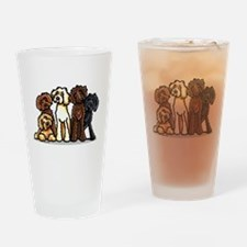 Labradoodle Lover Pint Glass