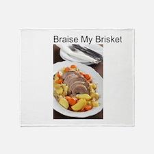 Braise My Brisket! Throw Blanket