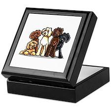 Labradoodle Lover Keepsake Box