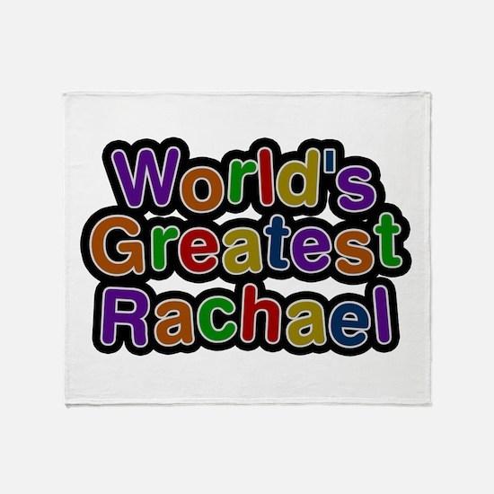 World's Greatest Rachael Throw Blanket