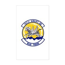 757th Airlift Squadron Rectangle Decal