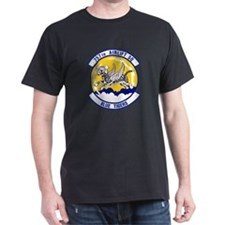 757th Airlift Squadron Black T-Shirt