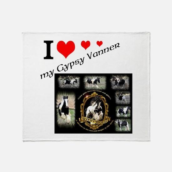 Cute Gypsy Throw Blanket