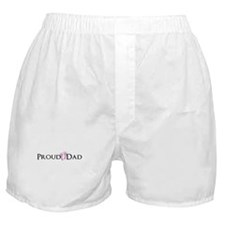 Proud Dad - Baby Girl Boxer Shorts
