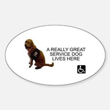Home Notice for Service Dog