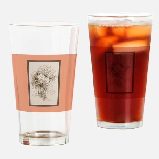 Poodle Standard Pint Glass