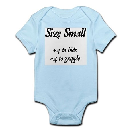 """Size Small"" Infant Creeper"