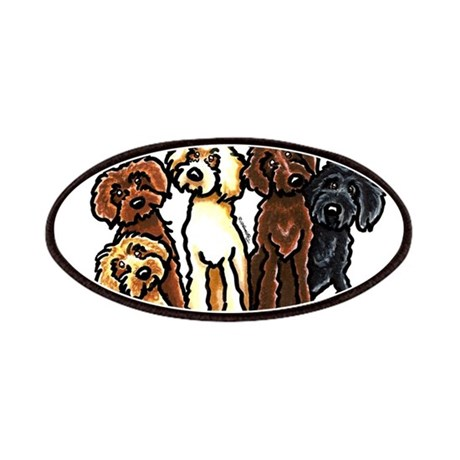Labradoodle Lover Patches