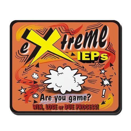 Extreme IEPs Mousepad