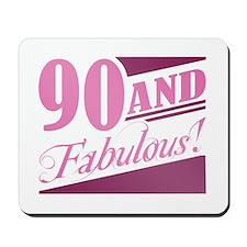 90 & Fabulous Mousepad