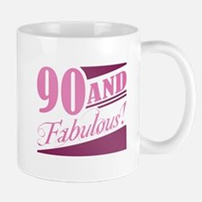 90 & Fabulous Small Small Mug