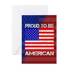 American Pride Greeting Card