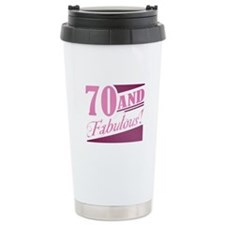 70 & Fabulous Travel Mug
