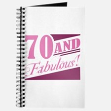 70 & Fabulous Journal