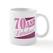 70 & Fabulous Mug