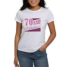 70 & Fabulous Tee
