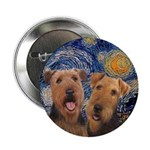 Starry Night Airedale #1 2.25