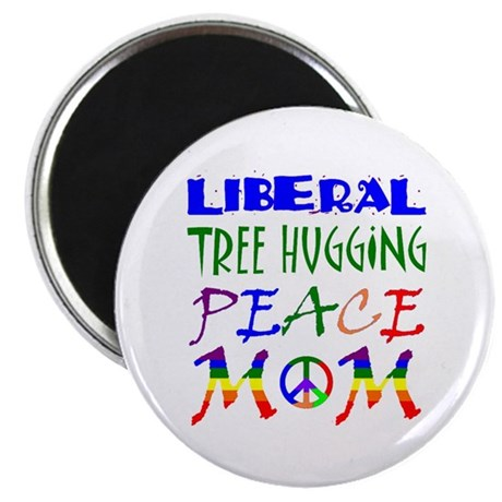 LIBERAL PEACE MOM (RB) Magnet