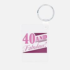 40 & Fabulous Keychains