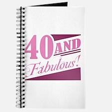40 & Fabulous Journal